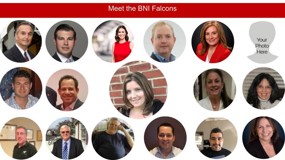 Meet the BNI Falcons